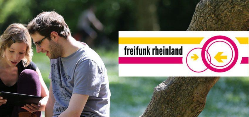 Unterstützung durch Freifunk Rheinland